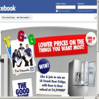 Win an LG French door fridge with door in door!