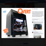 Win an 'OVERT' awesome watercooled gaming PC worth over $6,000!