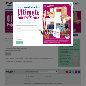 Win an Ultimate (artist) Painter's Pack