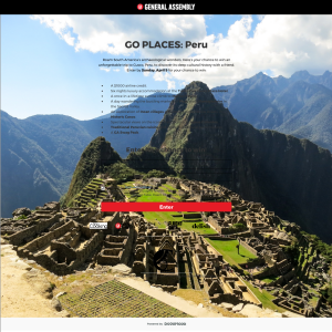 Win an unforgettable trip for 2 to Cusco, Peru!