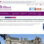 Win an unforgettable trip for 2 to Scotland!