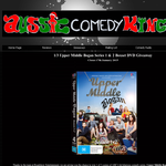 Win an Upper Middle Bogan Series 1 & 2 Boxset DVD