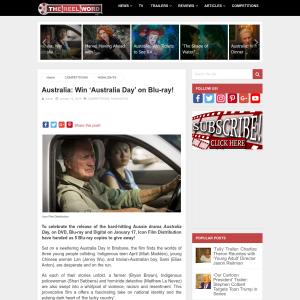 Win 'Australia Day' on Blu-ray