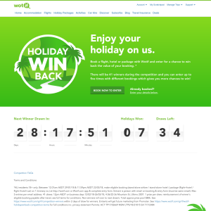 Win Back the Value of Your Hotel, Flight or Package