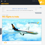 Win flights to India!