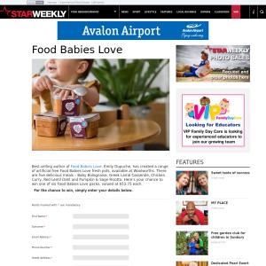 Win Food Babies Love pack