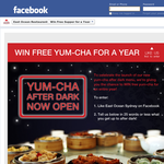 Win free Yum-Cha for a year!