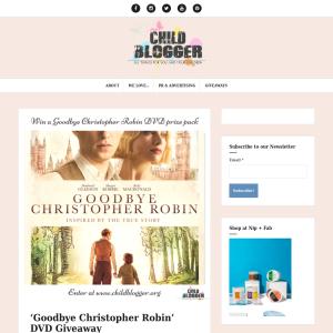Win Goodbye Christopher Robin DVD prize packs