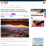 Win IMAX tickets to see Rocky Mountains Express & America Wild