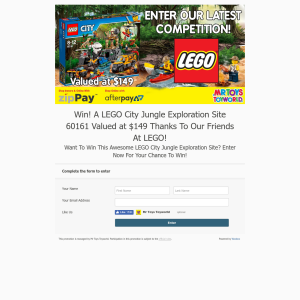 Win Lego Jungle Exploration Site 60161