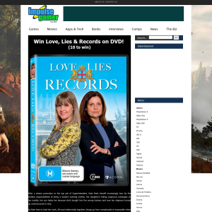 Win Love, Lies & Records on DVD