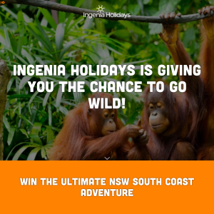 Win NSW South Coast holiday