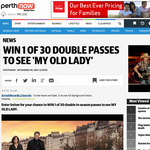 Win  of 30 double in-season passes to see
