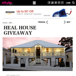 Win one night's accommodation for two people at Heal House