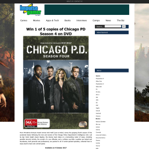 Win one of five copies of Chicago PD season 4