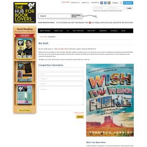 Win One Of Five Copies Of Wish You Were Here By Sheridan Jobbins
