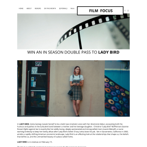 Win one of five Ladybird double passes