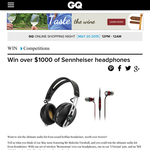 Win over $1,000 worth of Sennheiser headphones!