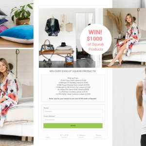 Win over $1000 of Squeak Products