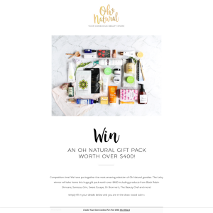 Win Prize Pack
