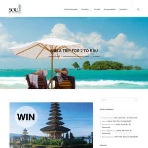 Win Qantas Return Flights for 2 to Bali