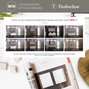 Win the bathroom of your dreams! (Excludes NT Residents)