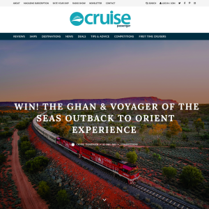 Win  The Ghan and Voyager of the Seas Outback to Orient Experience