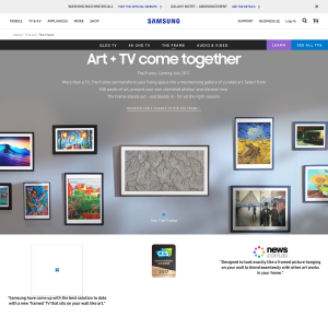 Win the New Samsung The Frame TV