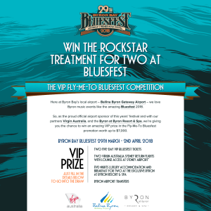 Win the Rockstar Treatment for Two at Bluefest