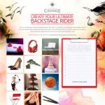Win the ultimate backstage rider thanks to Vodka Cruiser!