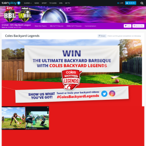 Win the ultimate backyard BBQ!