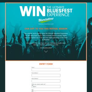 Win the Ultimate Bluesfest Experience