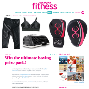 Win the ultimate boxing prize pack!