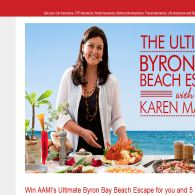 Win the ultimate Byron Bay Beach escape for you & 5 friends!