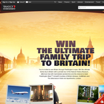 Win the ultimate family trip to Britain!