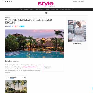 Win The Ultimate Fijian Island Escape