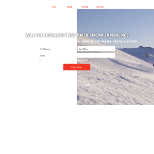 Win the Ultimate First Timer Snow Experience