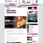 Win the ultimate 'GIANTS' match day experience!