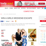 Win the ultimate girly weekend away at Golden Door Health Retreat & Spa Elysia