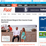 Win the ultimate Margaret River 'Gourmet Escape' experience!