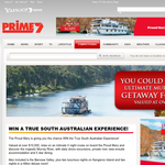 Win the ultimate Murray River getaway for 2, valued at over $10,000!