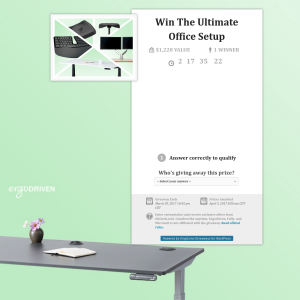 Win the ultimate office setup!
