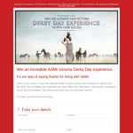 Win the ultimate Victoria 'Derby Day' experience worth over $25,000!