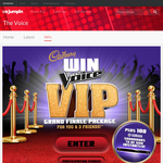 Win 'The Voice' VIP Grand Final Package for you & 3 friends + 1 of 100 Yamaha Soundbars to be won instantly!