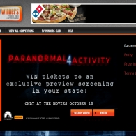 Win tickets to an exclusive preview screening of Paranormal Activity 4