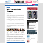Win Tickets to Celtic Thunder