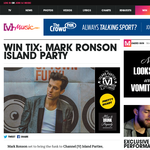 Win tickets to Mark Ronson Island Party!
