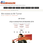 Win tickets to Mr Turner