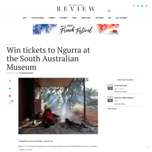 Win tickets to Ngurra at the South Australian Museum