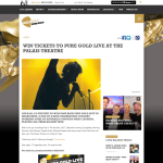 Win Tickets to Pure Gold Live at the Palais Theatre
